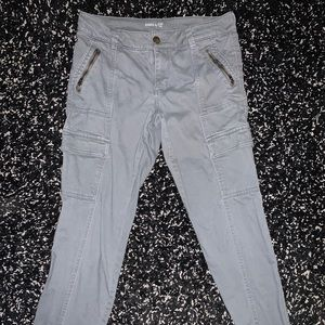 Gray Khakis by Gap Cargo Pants